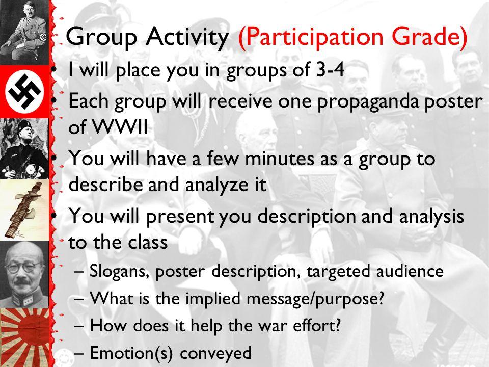 Group Activity (Participation Grade)