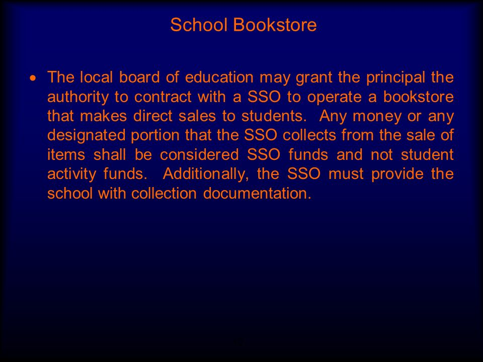 School Bookstore