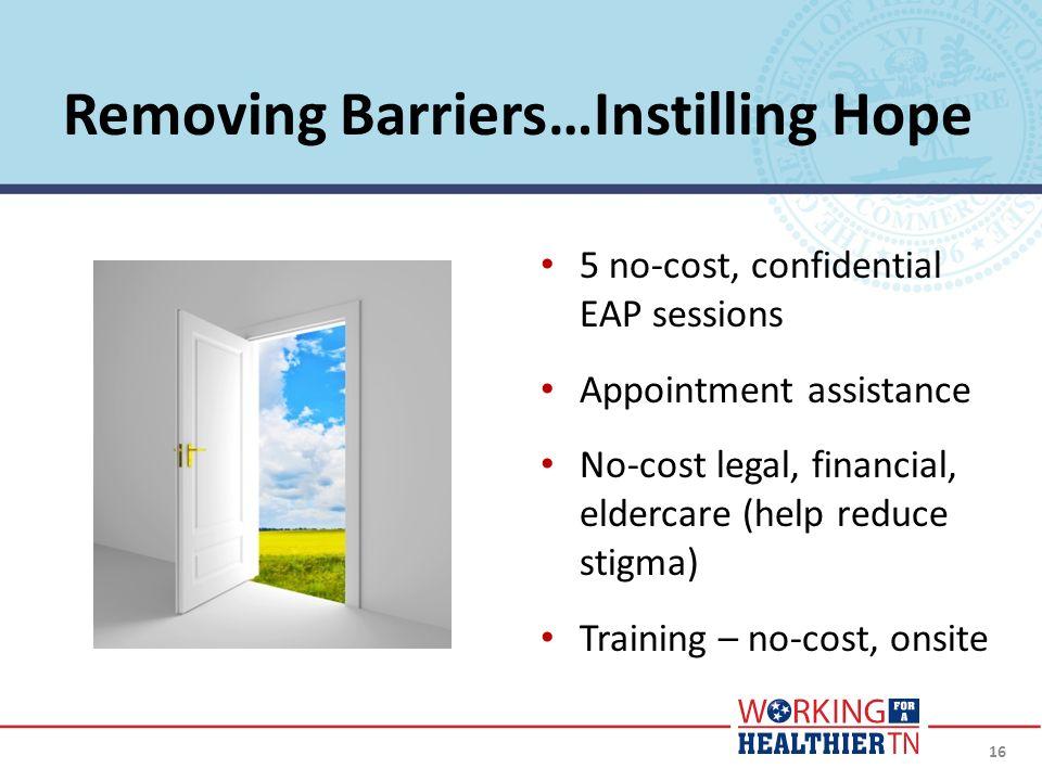 Removing Barriers…Instilling Hope