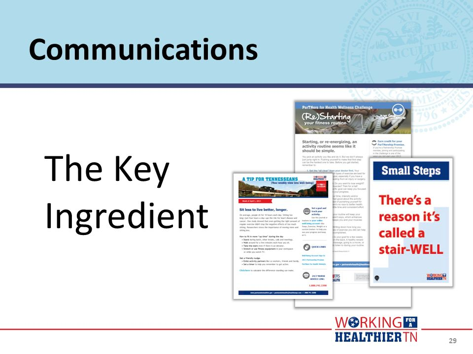 The Key Ingredient Communications Website and Social Media Engagement