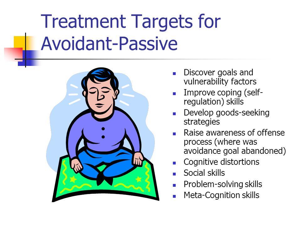 Treatment Targets for Avoidant-Passive