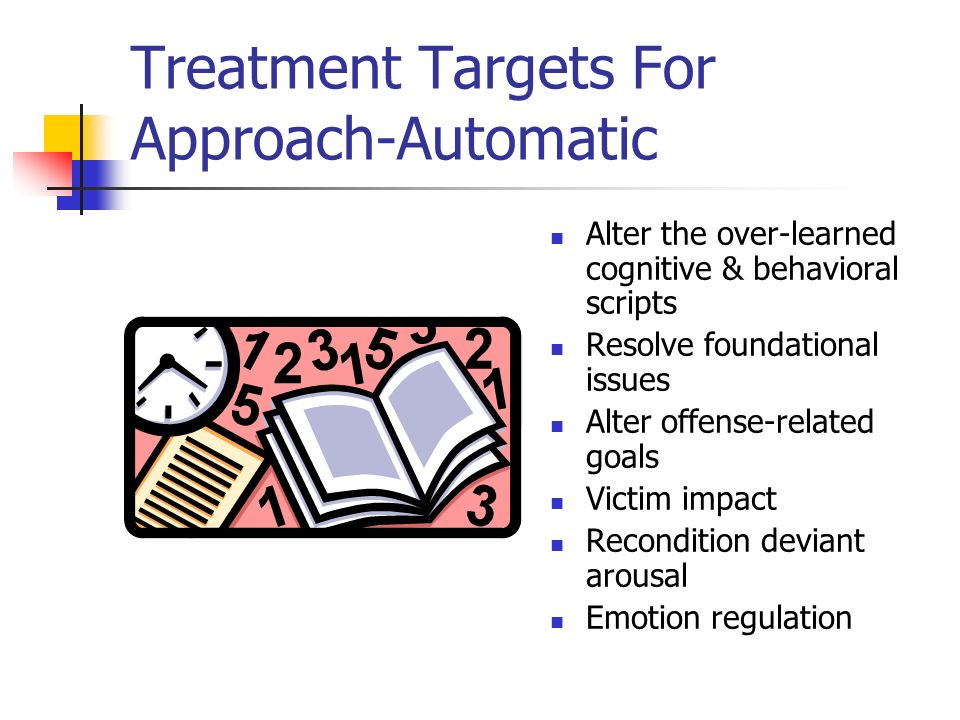 Treatment Targets For Approach-Automatic