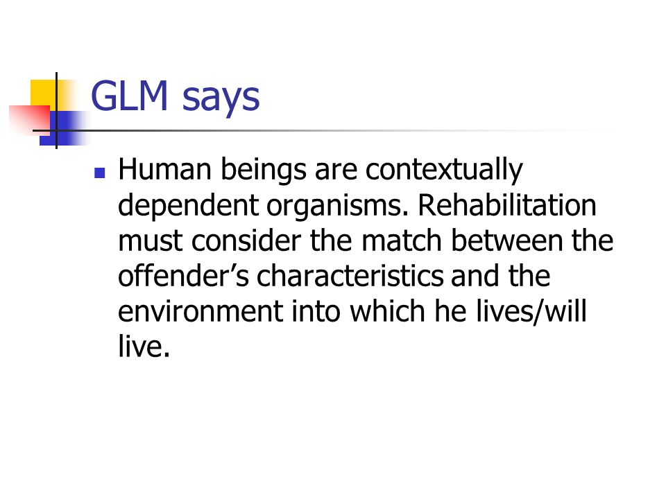 GLM says