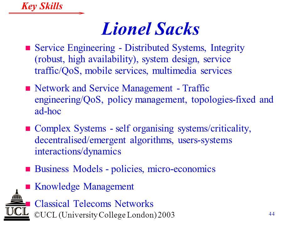 Lionel Sacks