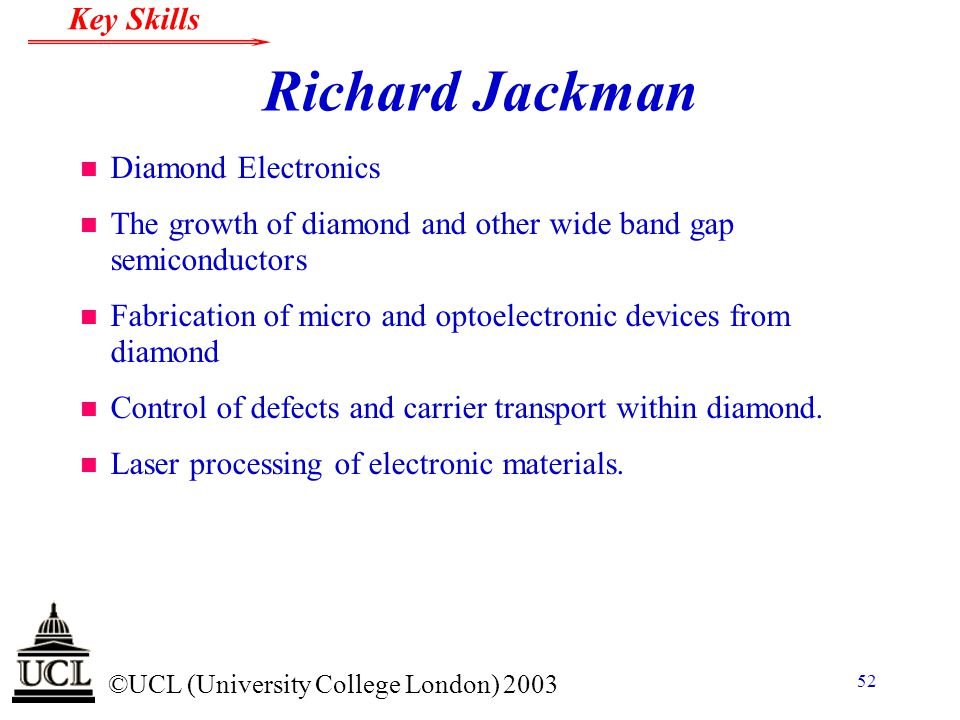 Richard Jackman Diamond Electronics