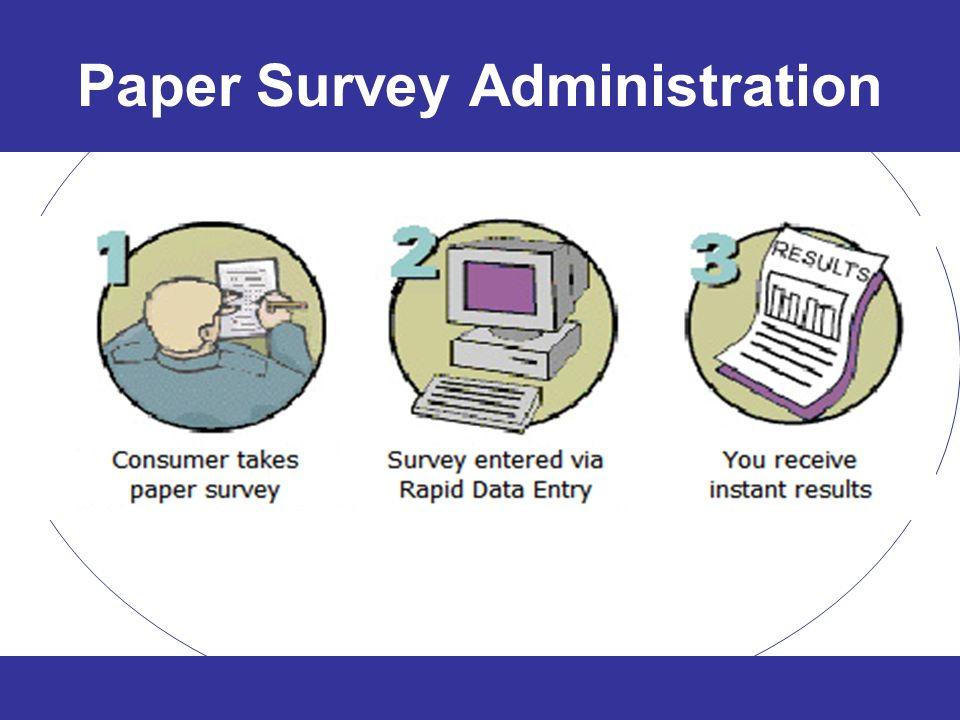 Paper Survey Administration