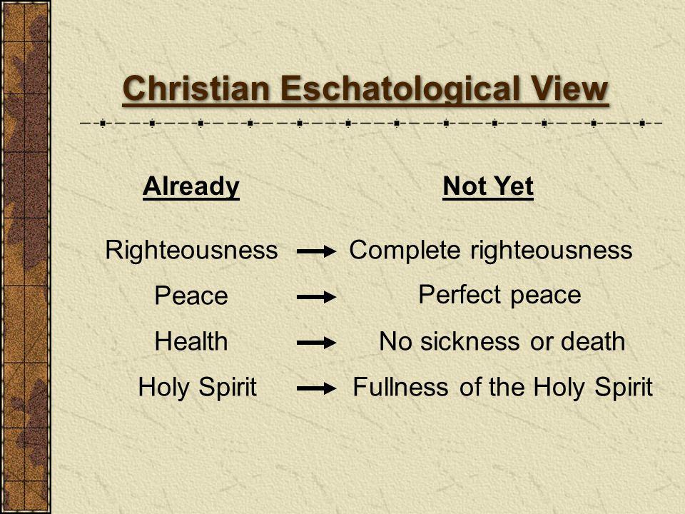 Christian Eschatological View