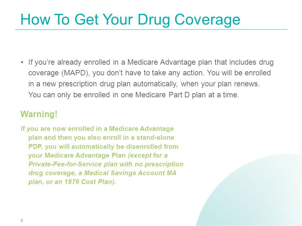 How To Get Your Drug Coverage