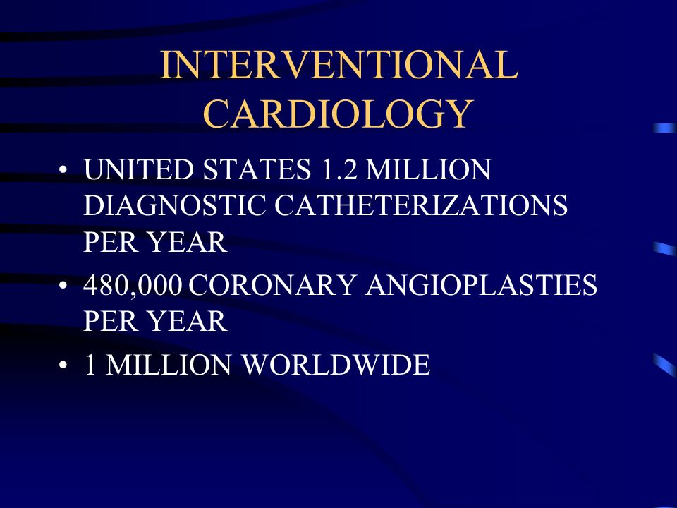 INTERVENTIONAL CARDIOLOGY