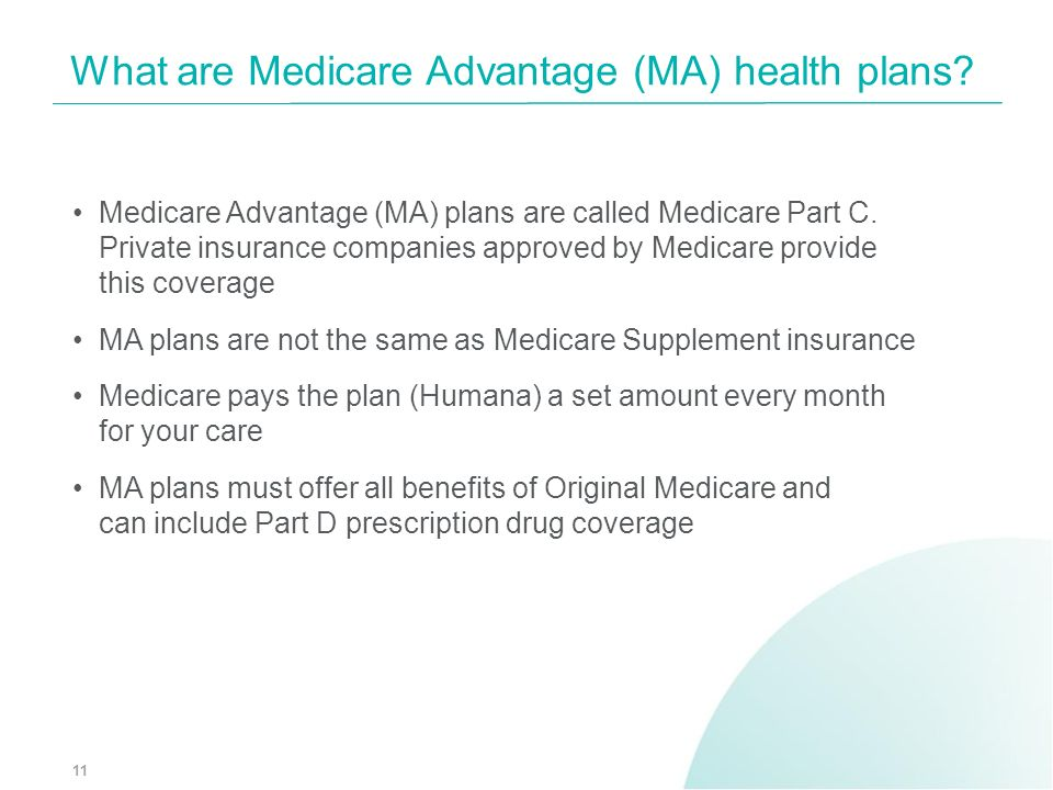 What are Medicare Advantage (MA) health plans