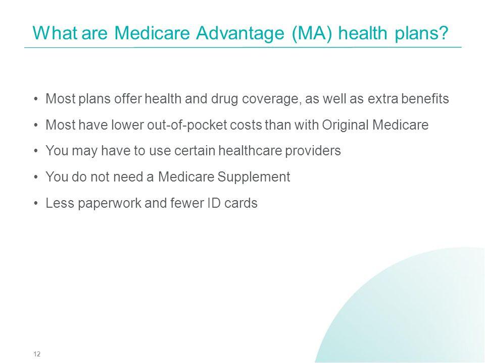 What are Medicare Advantage (MA) health plans
