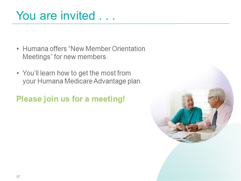 You are invited . . . Please join us for a meeting!