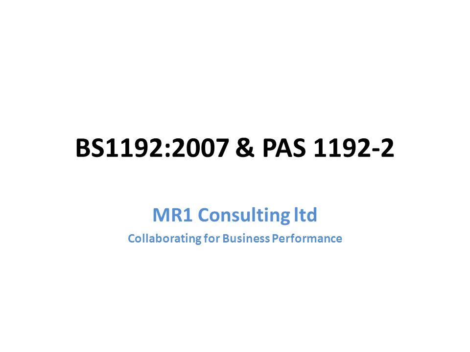 MR1 Consulting ltd Collaborating for Business Performance