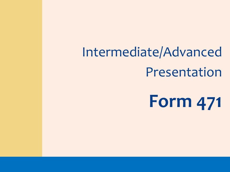 Intermediate/Advanced