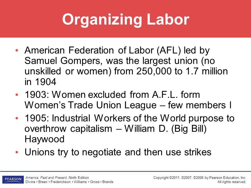 Organizing Labor