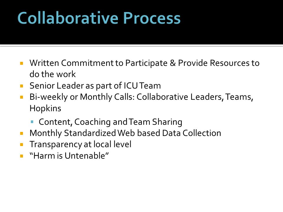 Collaborative Process
