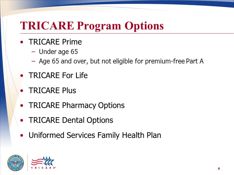 TRICARE Program Options