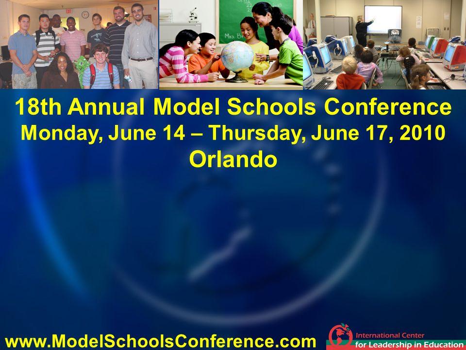 18th Annual Model Schools Conference Orlando
