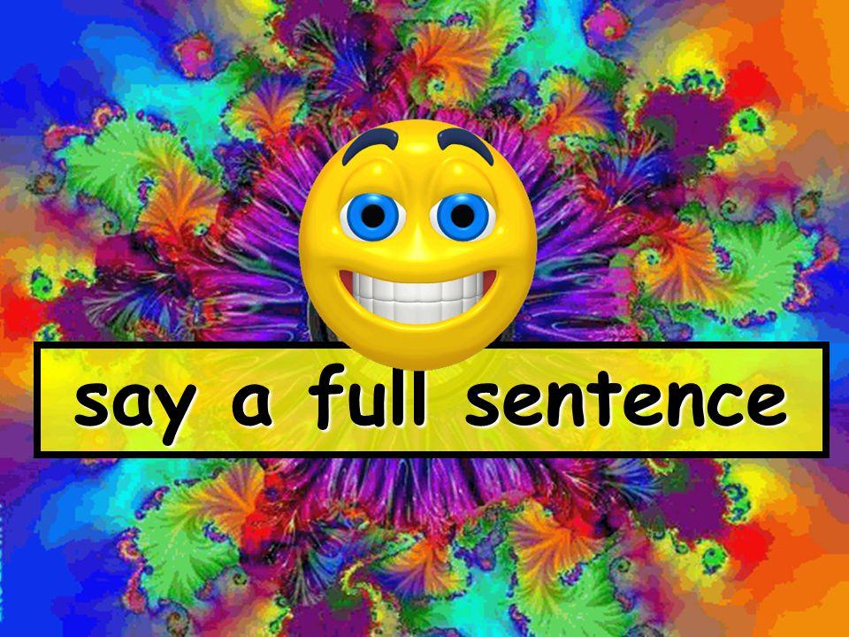 say a full sentence www.globalcitizen.co.uk
