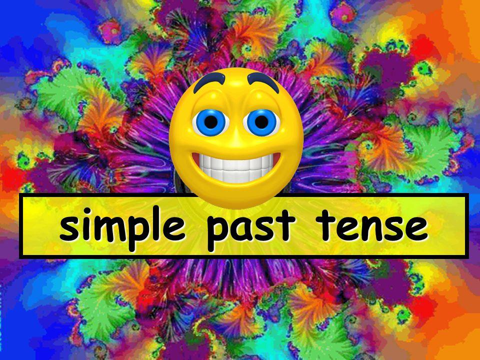 simple past tense www.globalcitizen.co.uk