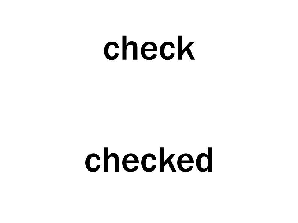 check checked