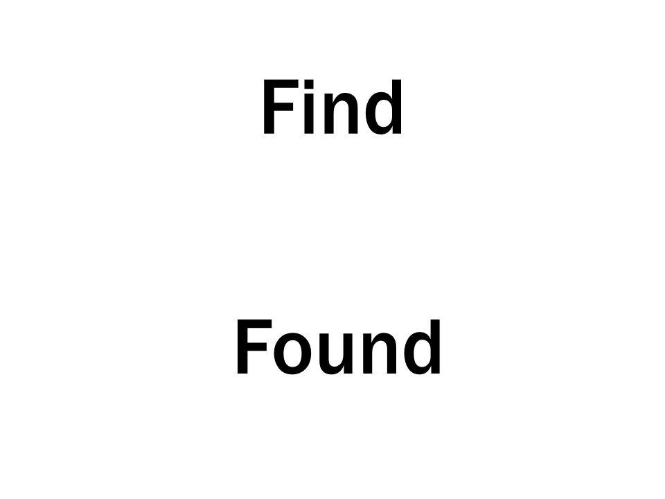 Find Found