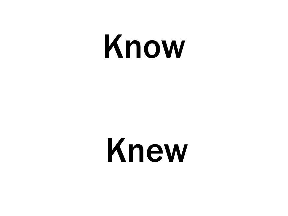 Know Knew