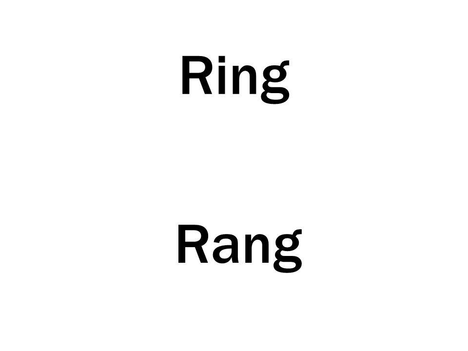 Ring Rang