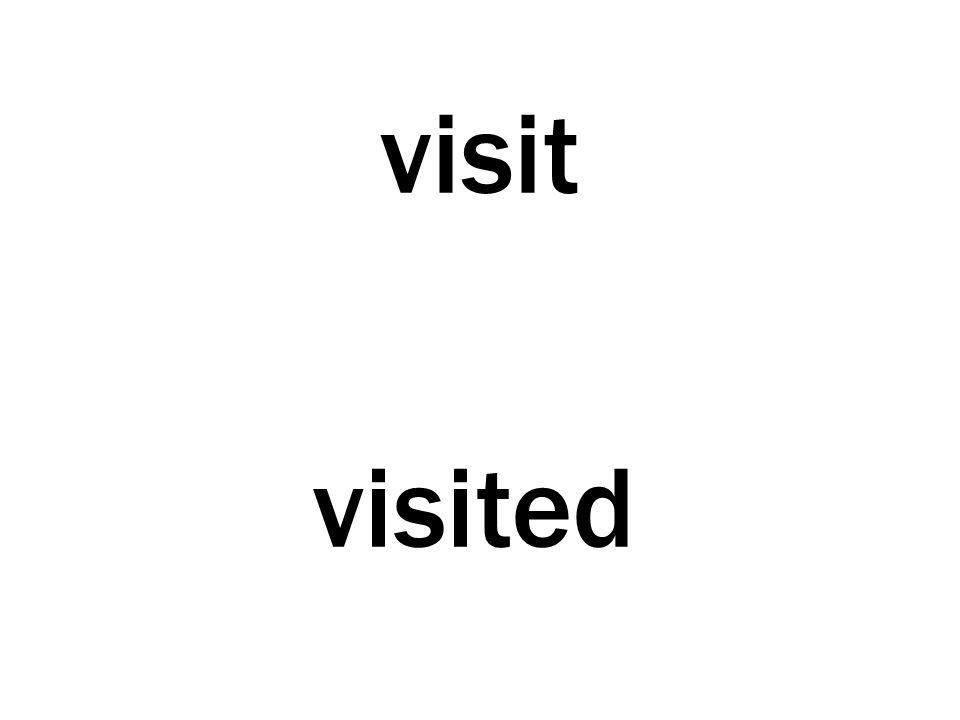 visit visited