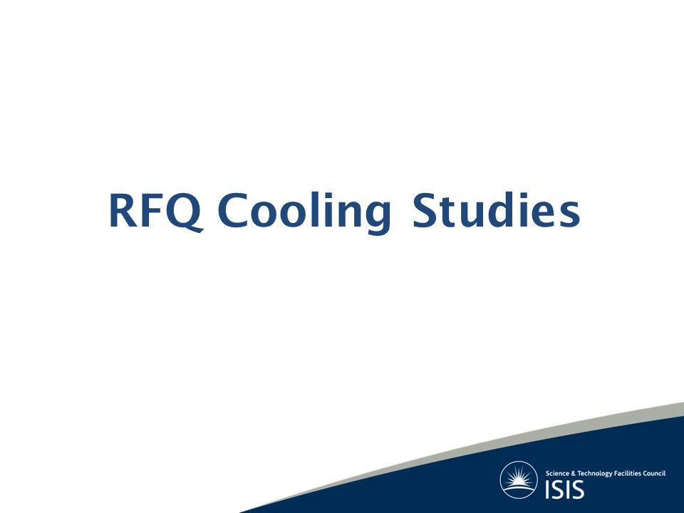 RFQ Cooling Studies