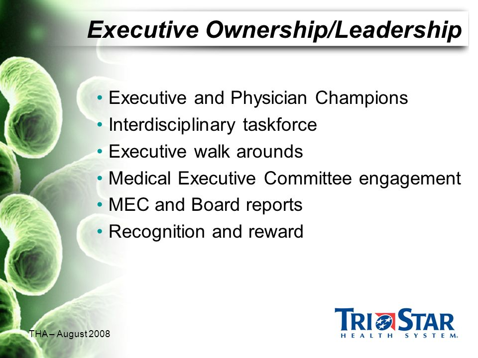 Executive Ownership/Leadership