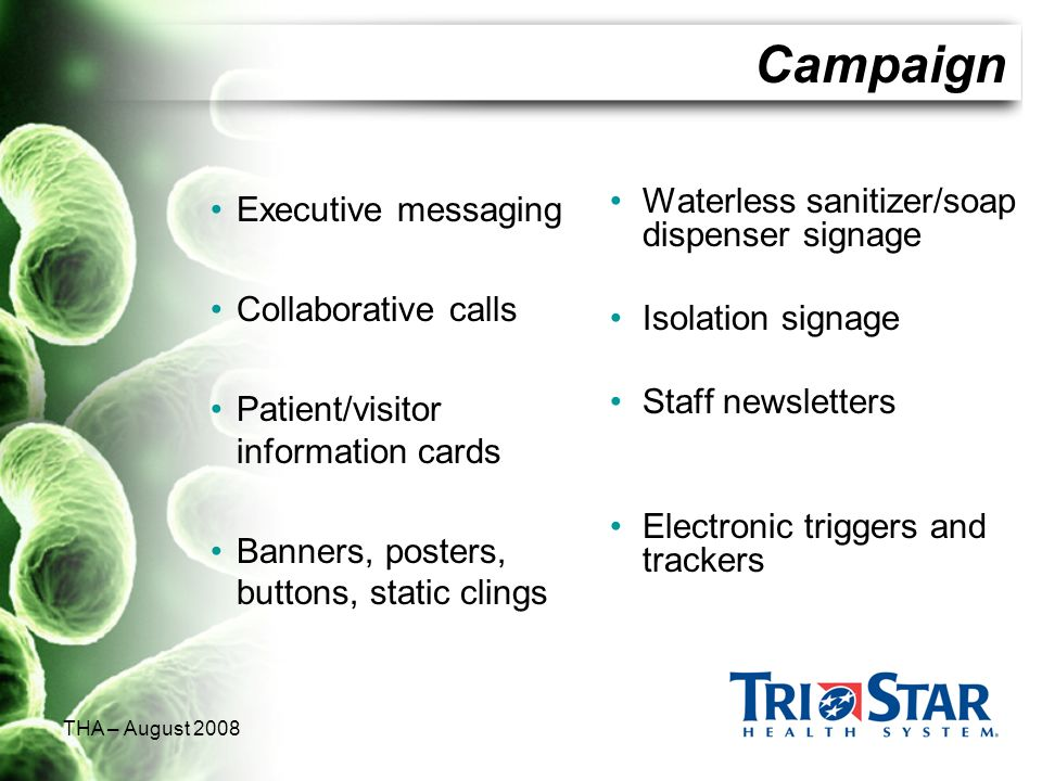 Campaign Executive messaging Collaborative calls