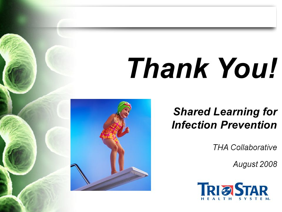 Shared Learning for Infection Prevention