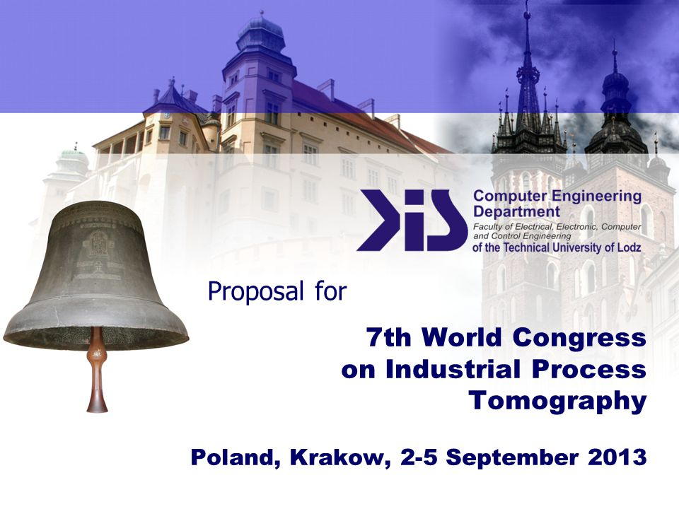 7th World Congress on Industrial Process Tomography