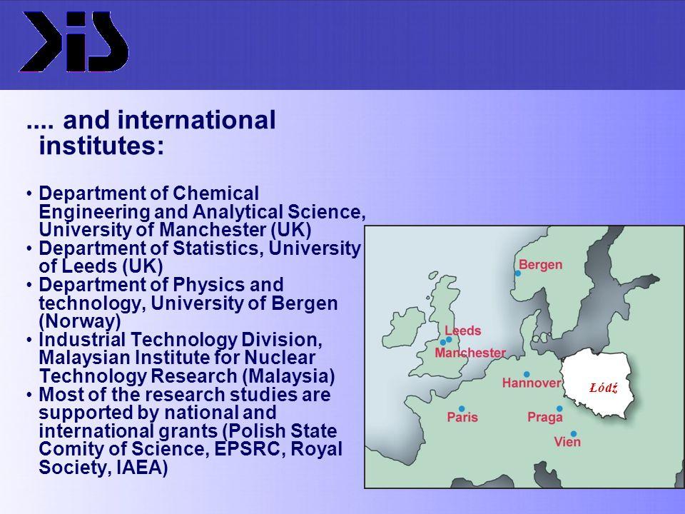 .... and international institutes: