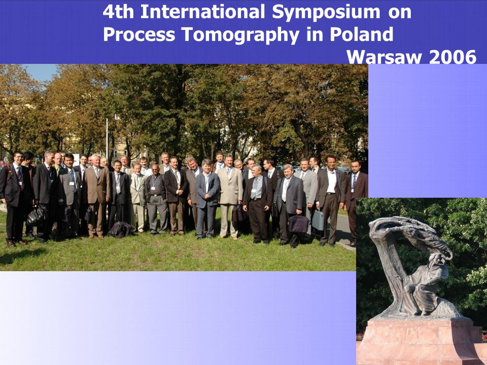4th International Symposium on Process Tomography in Poland
