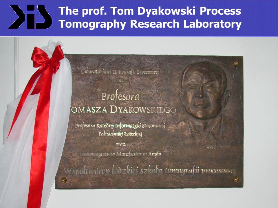 The prof. Tom Dyakowski Process Tomography Research Laboratory