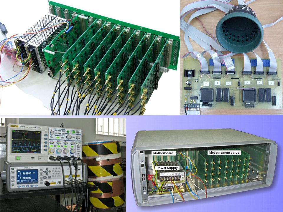 Motherboard Power Supply Measurement cards