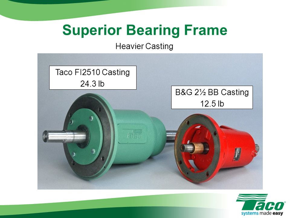 Superior Bearing Frame