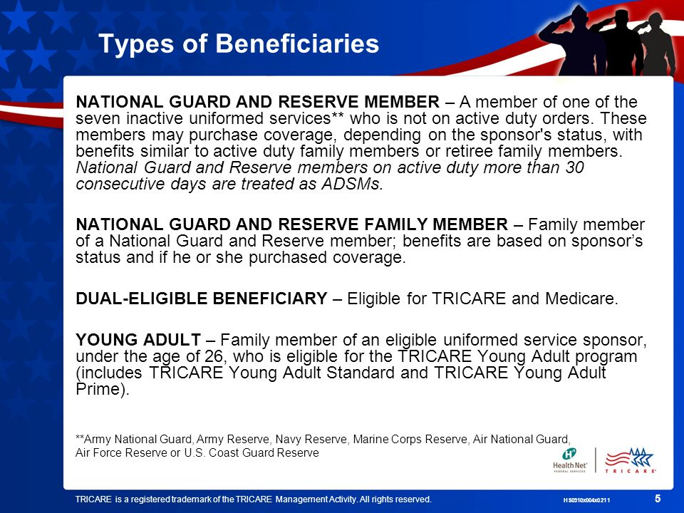 Types of Beneficiaries