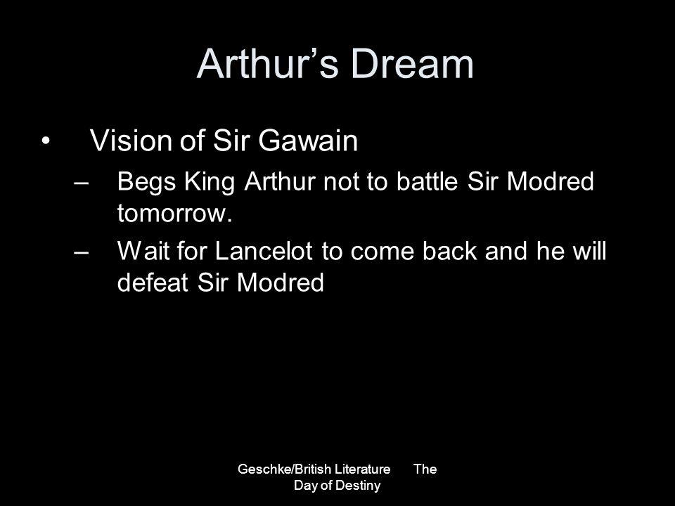 Geschke/British Literature The Day of Destiny