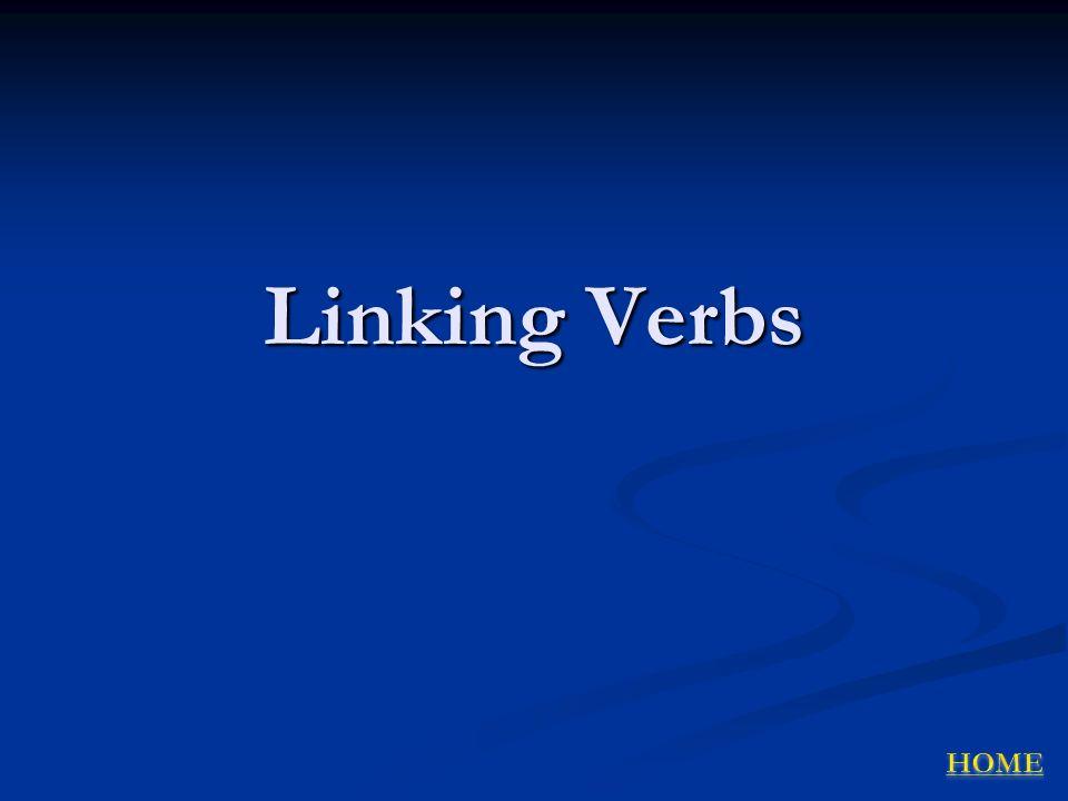 Linking Verbs
