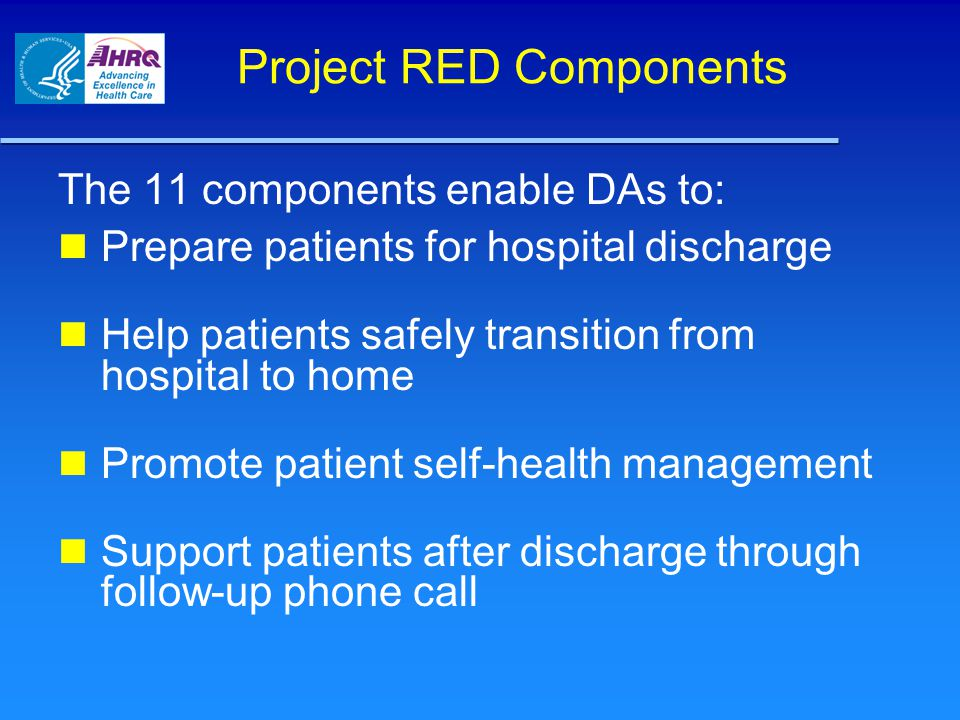 Project RED Components