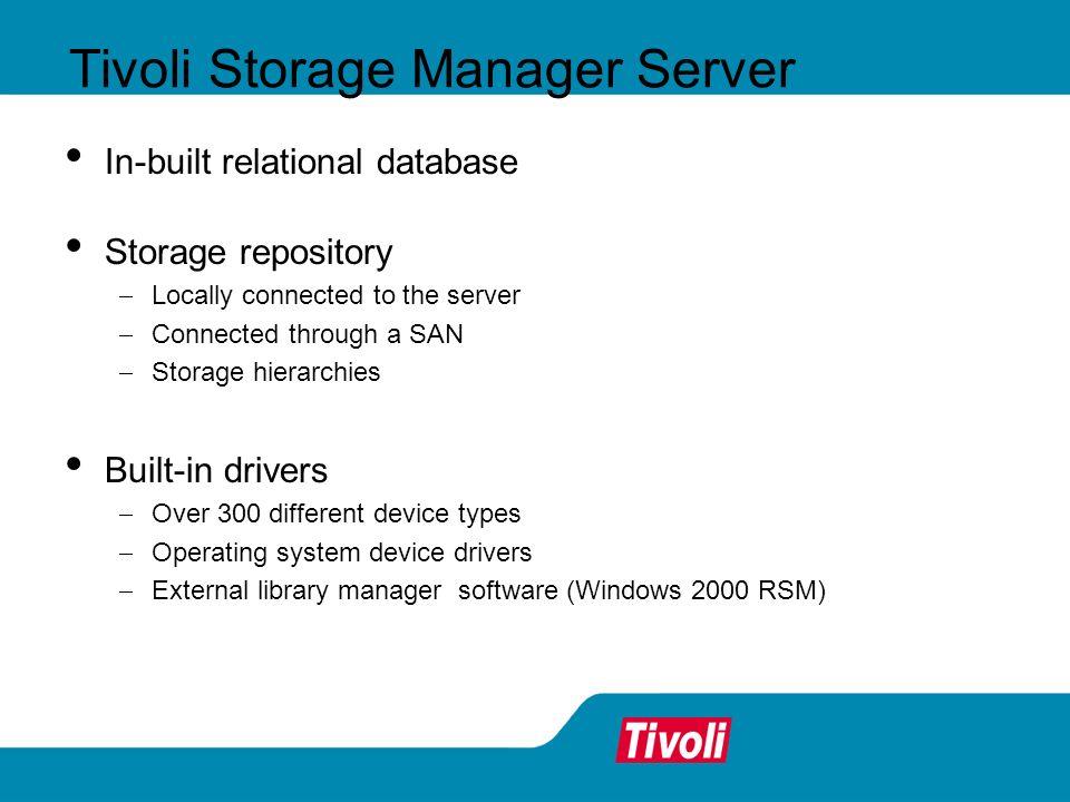 Tivoli Storage Manager Server