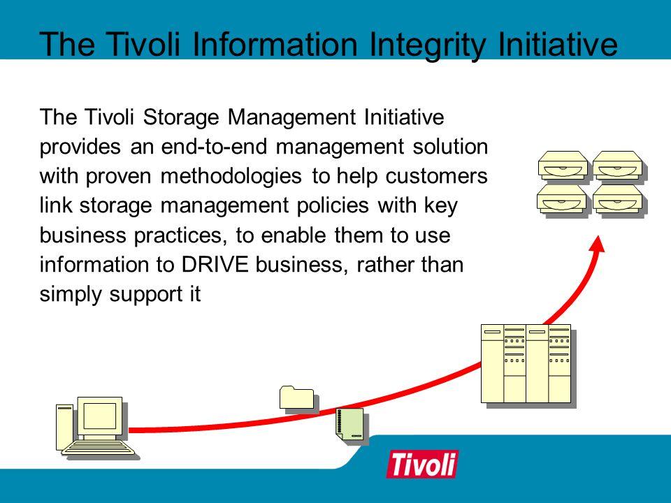 The Tivoli Information Integrity Initiative