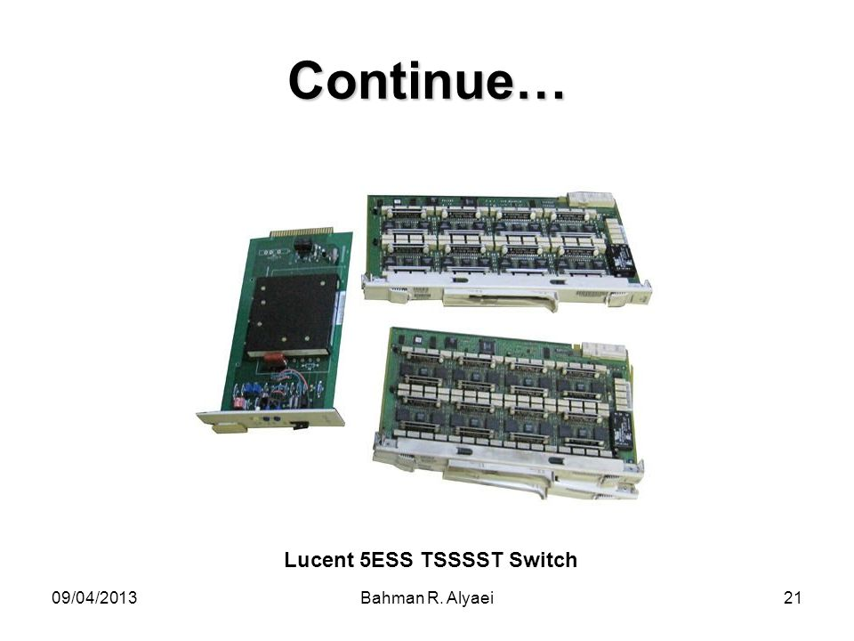 Lucent 5ESS TSSSST Switch