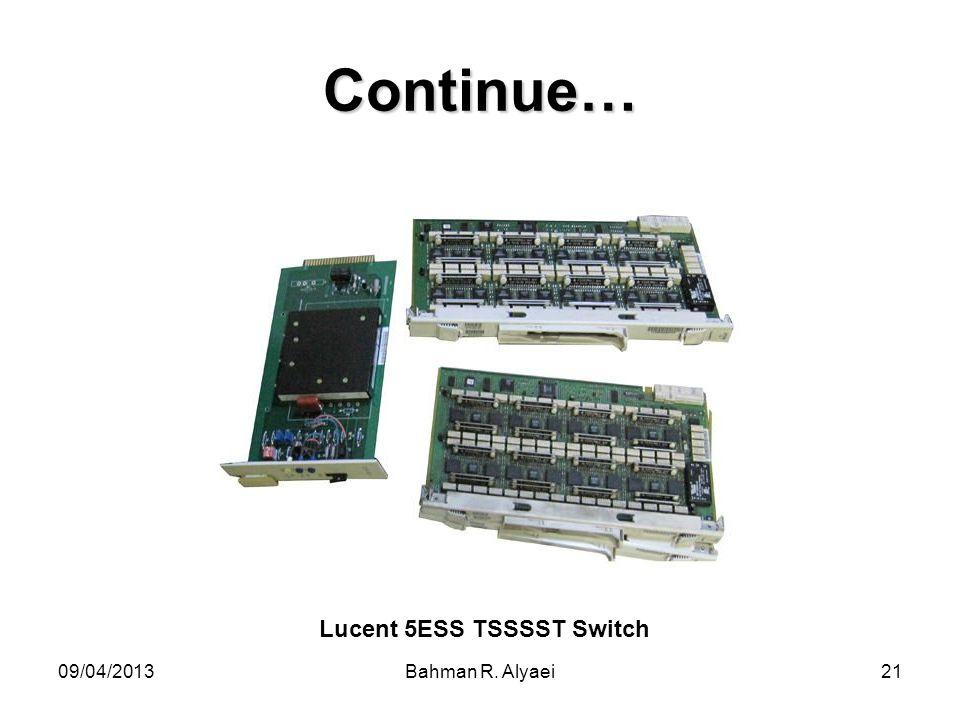 Lucent 5ESS TSSSST Switch