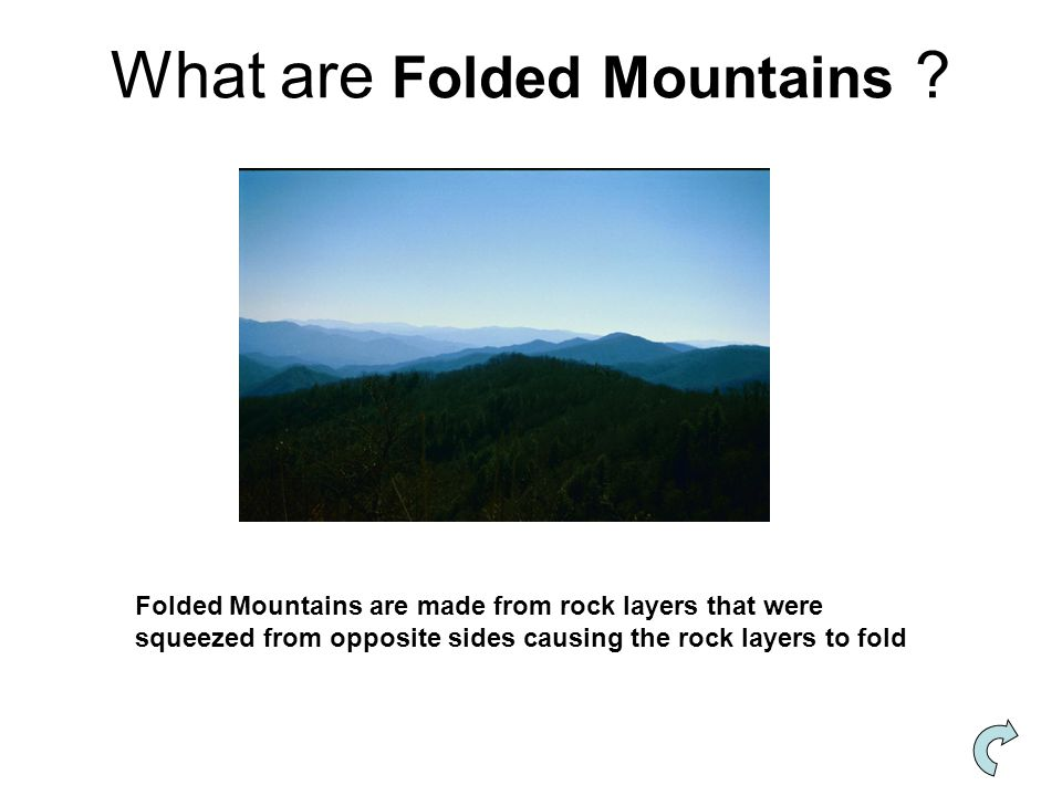 What are Folded Mountains