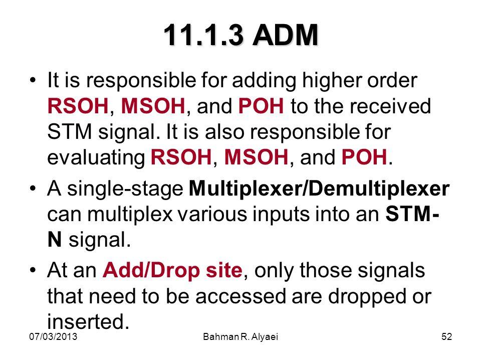 11.1.3 ADM