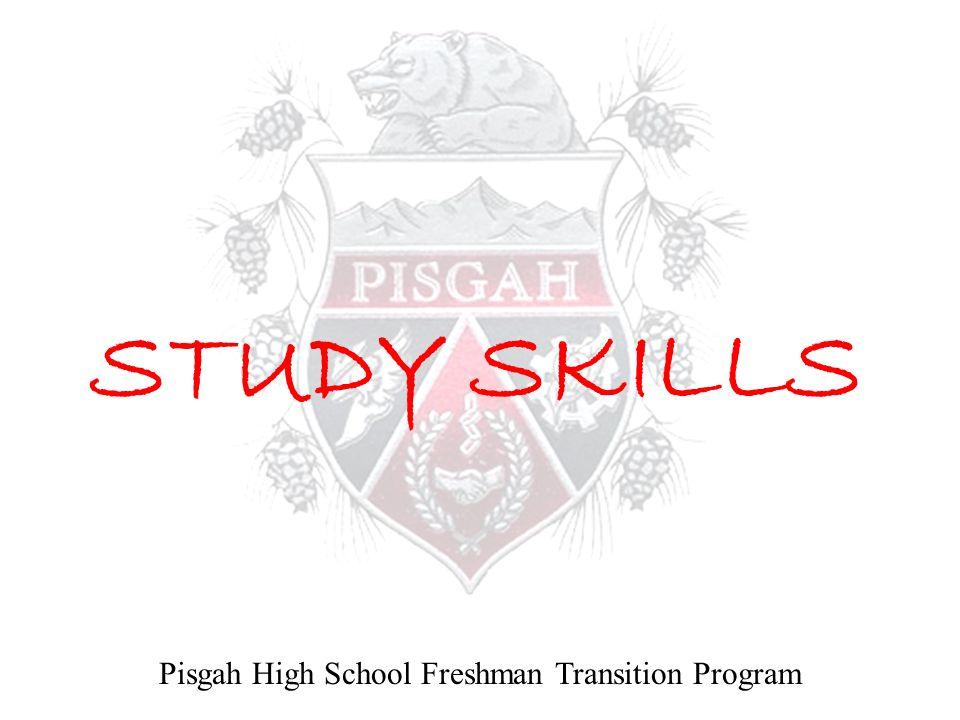 Pisgah High School Freshman Transition Program